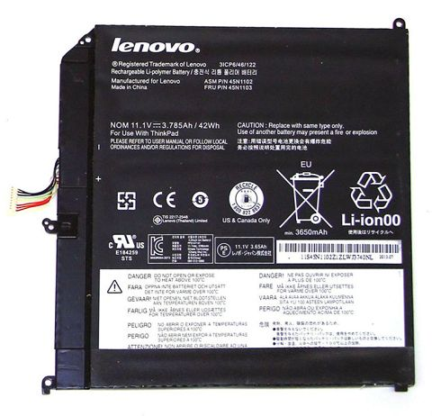 Lenovo 45n1103 Battery Photo