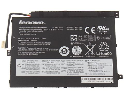 Lenovo Thinkpad Tablet 10 Battery Photo