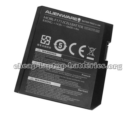 Dell Alienware m17x10-1453dsb Battery Photo