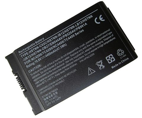 Hp Compaq Business Notebook nc4400 Battery Photo