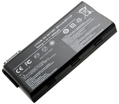 Msi cr610-091xbl Battery Photo