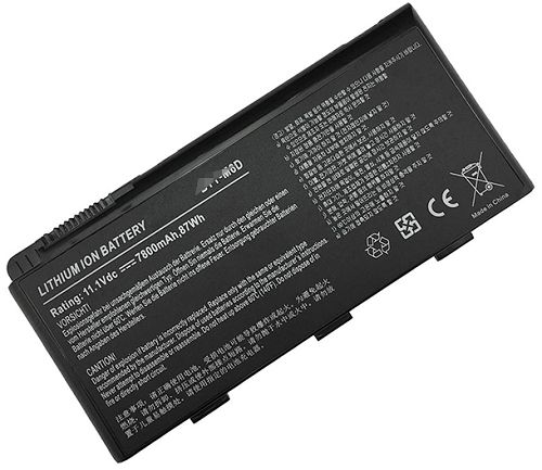 Msi gt70 0nd-1081xcn Battery Photo