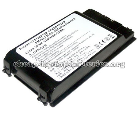 Fujitsu Lifebook a1100 Battery Photo