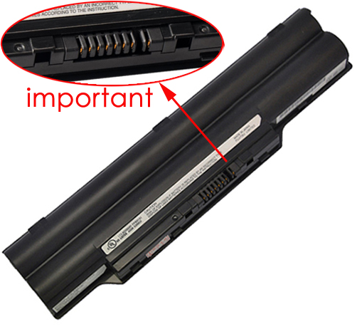 Fujitsu Lifebook sh560 Battery Photo