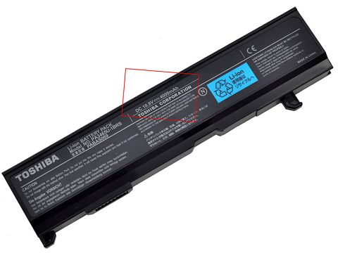 Toshiba Satellite m105-s1011 Battery Photo